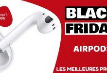 Airpods Black Friday : les meilleures offres et promos