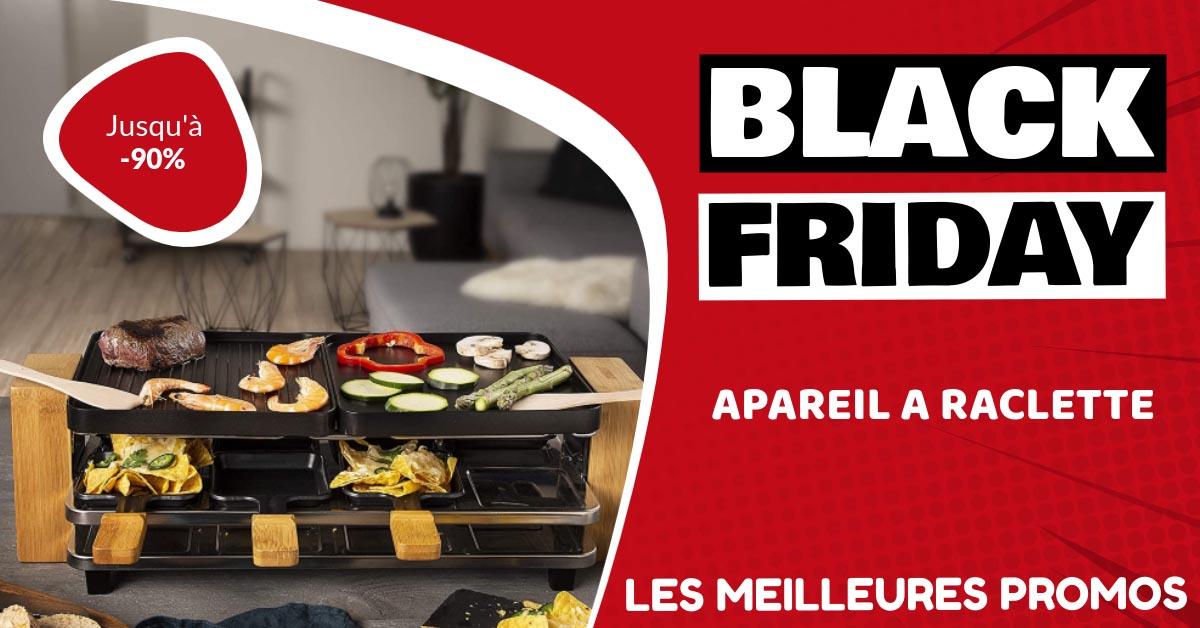 Appareil à raclette Black Friday : les meilleures offres et promos