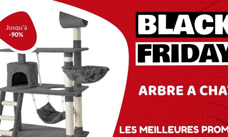 Arbre à chat Black Friday : les meilleures offres et promos