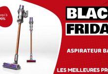 Aspirateur balai Black Friday : les meilleures offres et promos