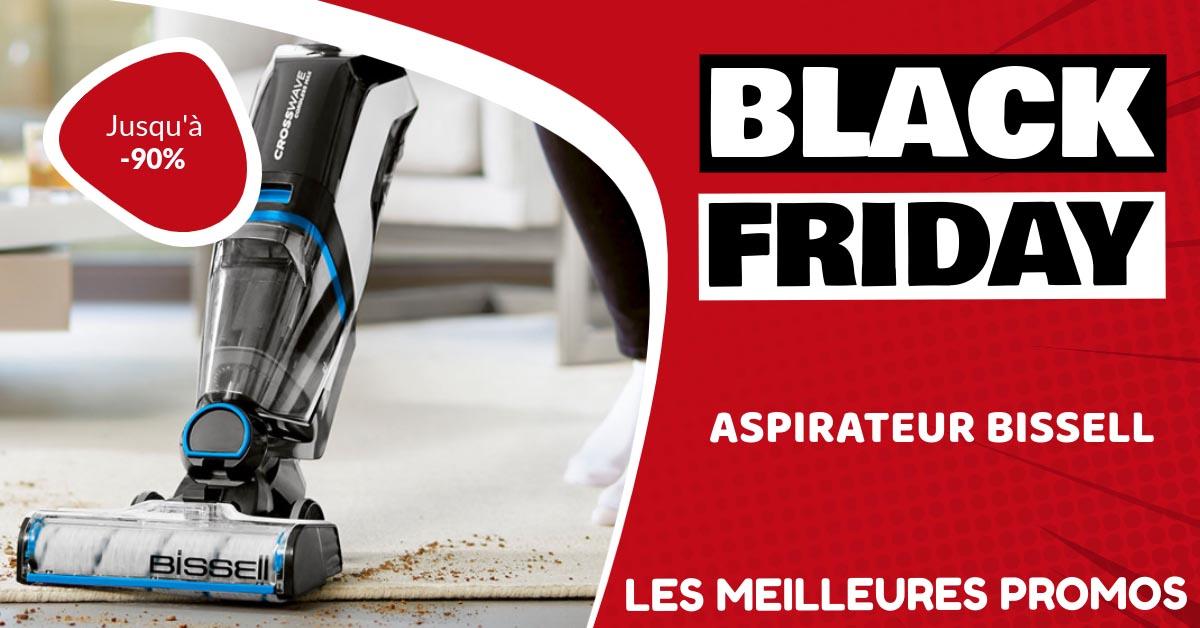Aspirateur Bissell Black Friday : les meilleures offres et promos