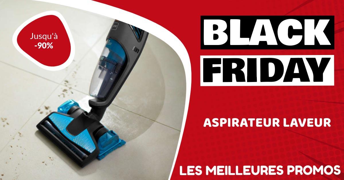 Aspirateur laveur Black Friday : les meilleures offres et promos