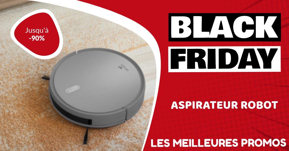 Aspirateur robot Black Friday : les meilleures offres et promos