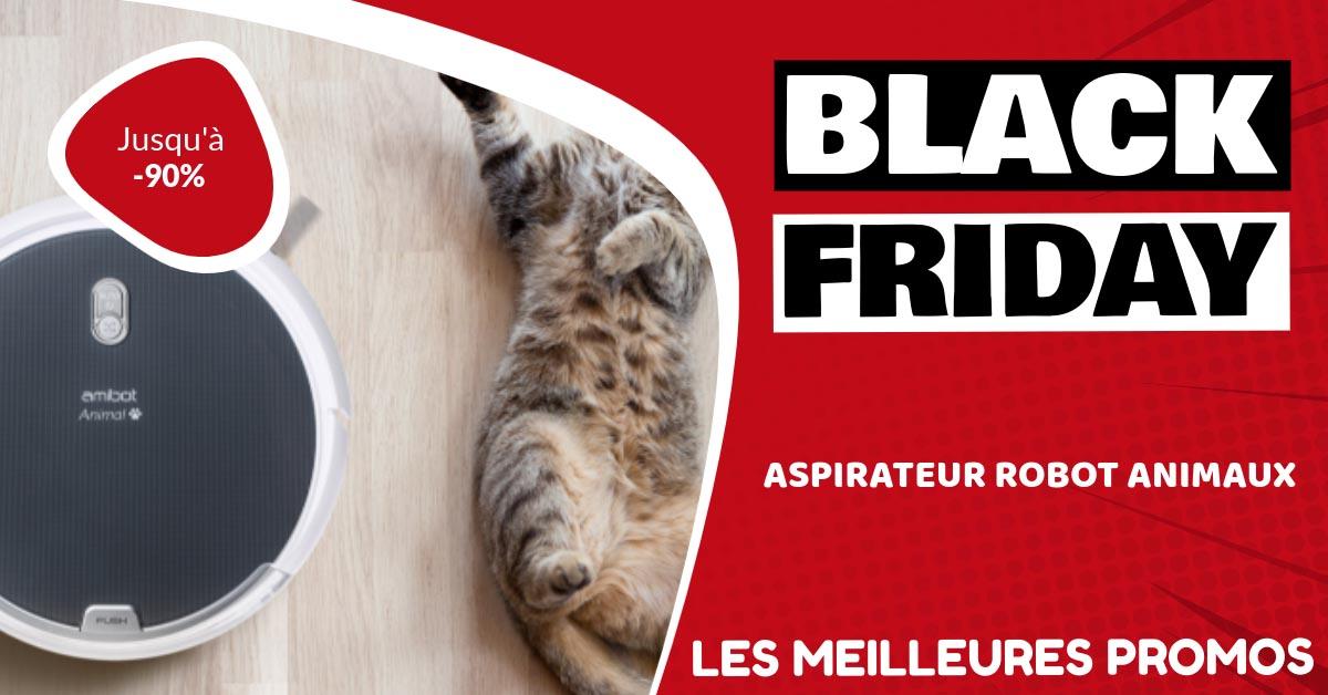 Aspirateur robot pour animaux Black Friday : les meilleures offres et promos