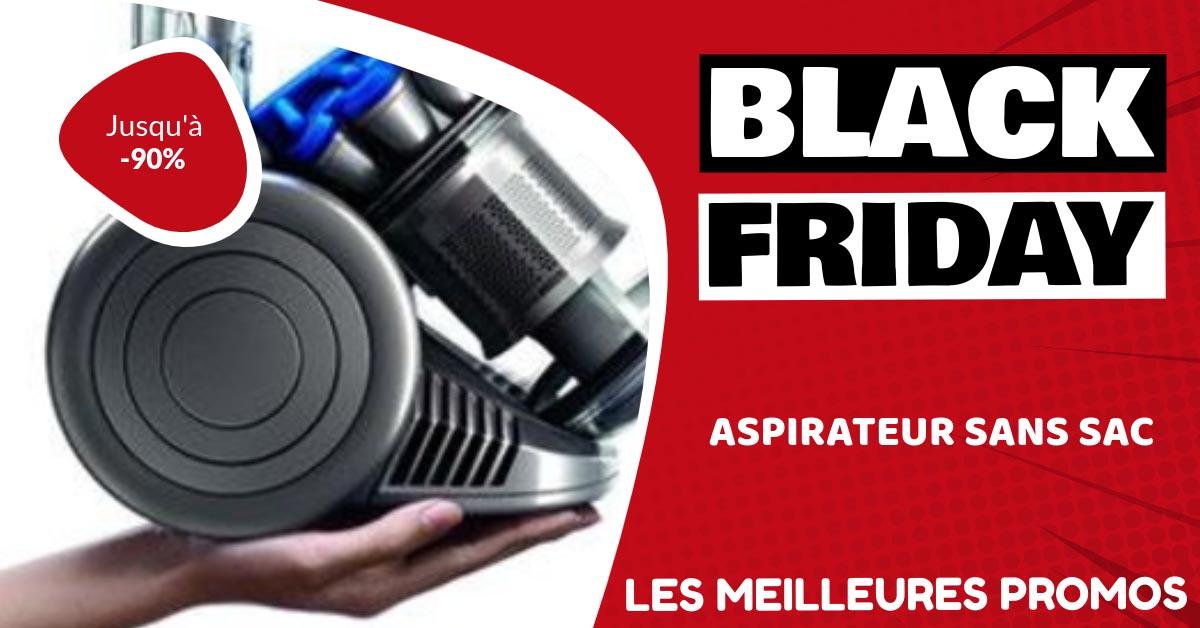 Aspirateur sans sac Black Friday : les meilleures offres et promos