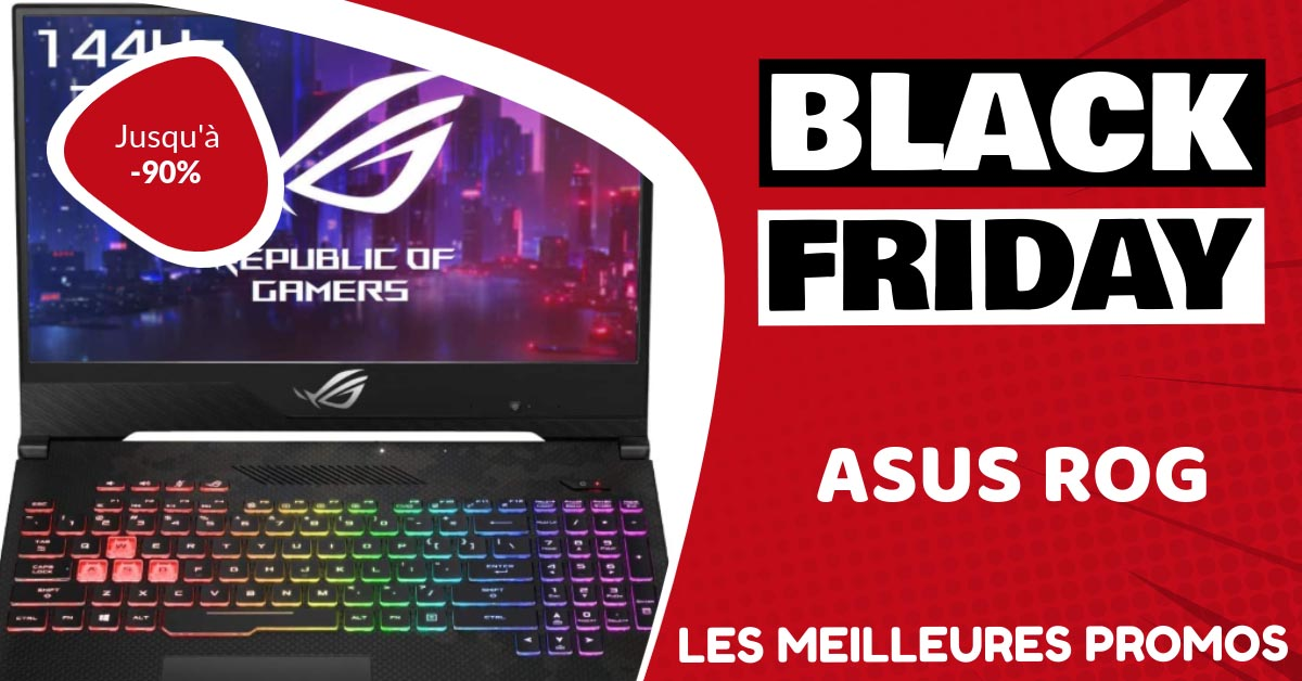 Asus Rog Black Friday : les meilleures offres et promos
