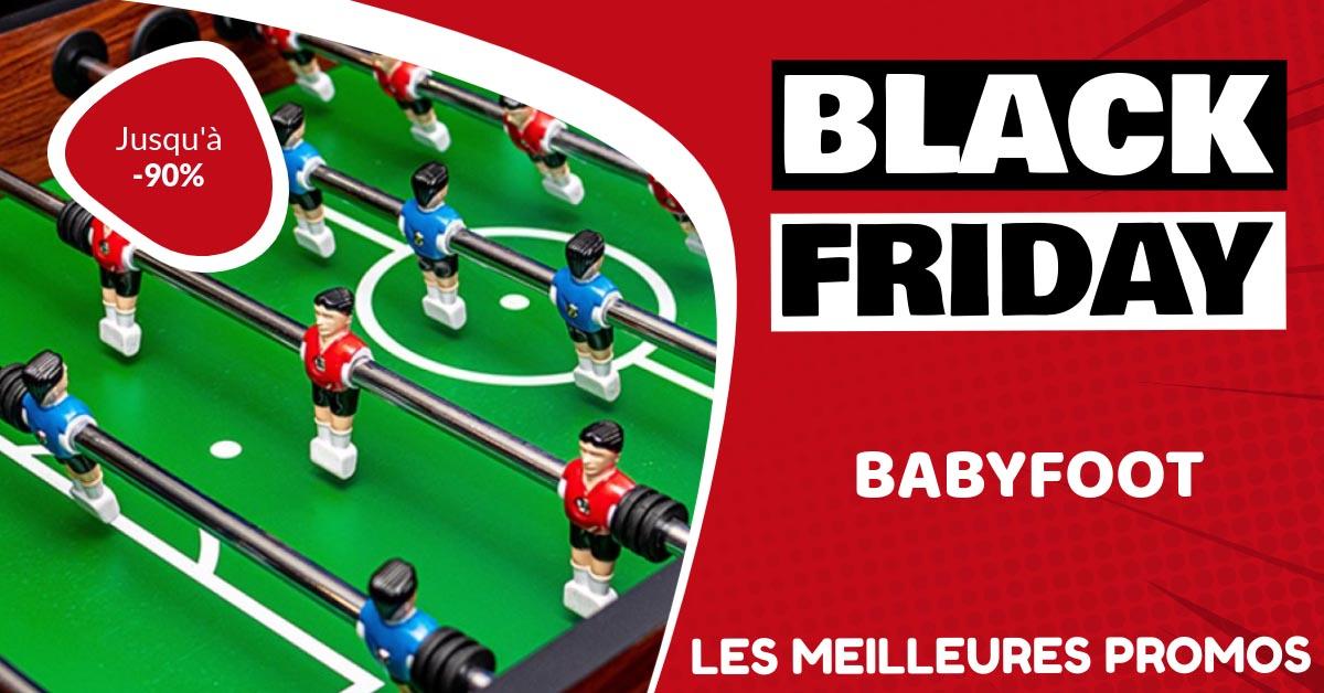 Babyfoot Black Friday : les meilleures offres et promos