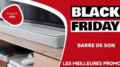 Barre de son Black Friday : les meilleures offres et promos