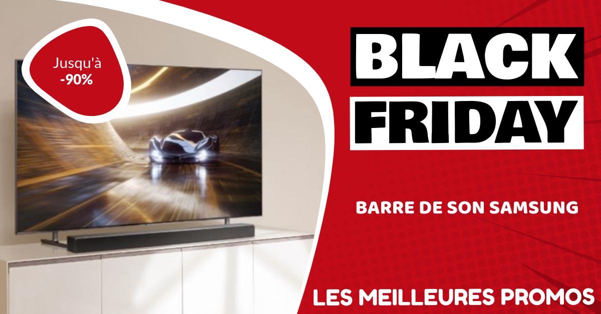 Barre de son Samsung Black Friday : les meilleures offres et promos