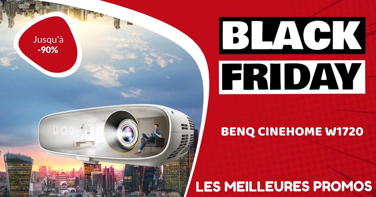 BenQ CineHome W1720 Black Friday : les meilleures offres et promos