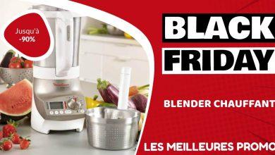 Blender chauffant Black Friday : les meilleures offres et promos
