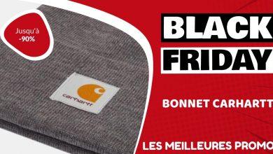 Bonnet Carhartt Black Friday : les meilleures offres et promos