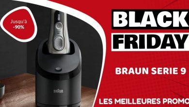 Braun Serie 9 Black Friday : les meilleures offres et promos