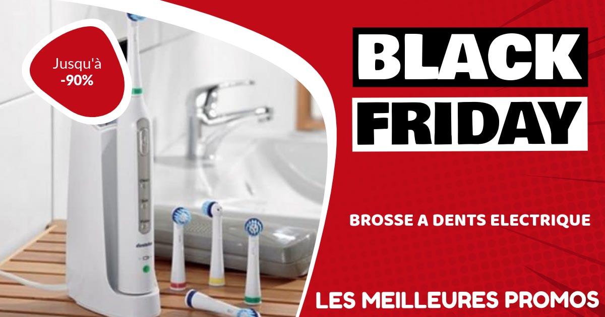 Brosse à dent électrique Black Friday : les meilleures offres et promos