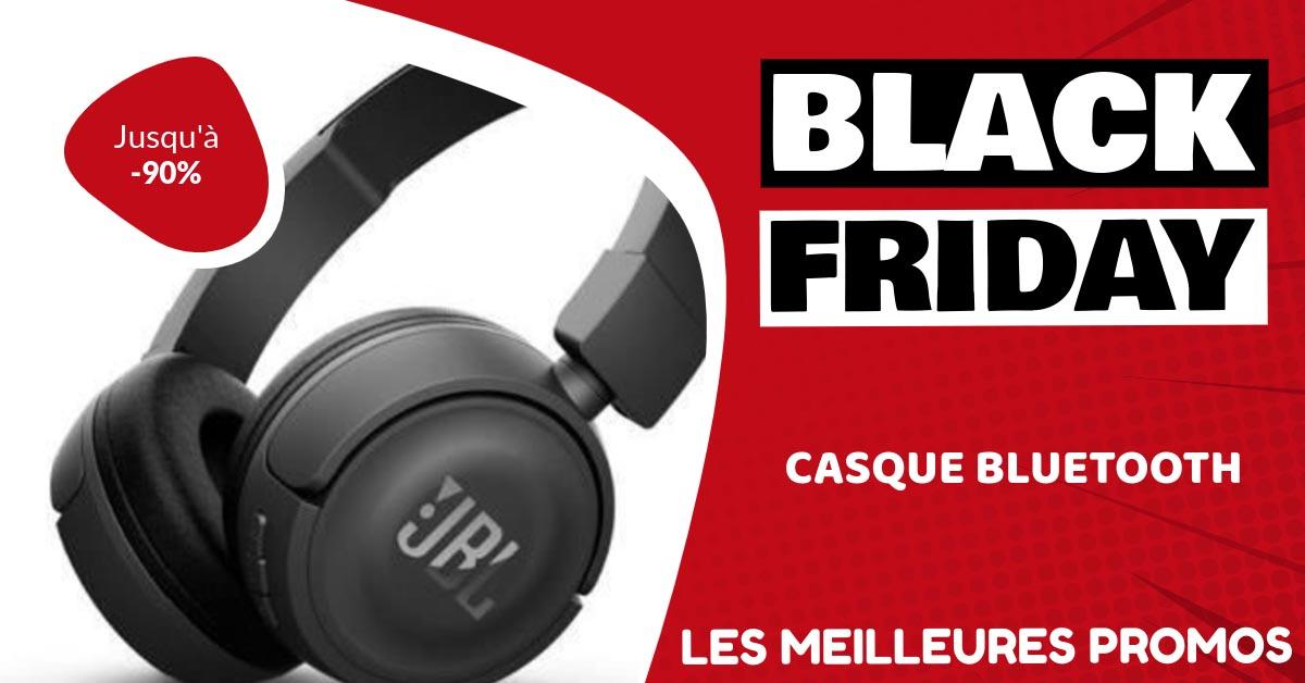 Casque bluetooth Black Friday : les meilleures offres et promos