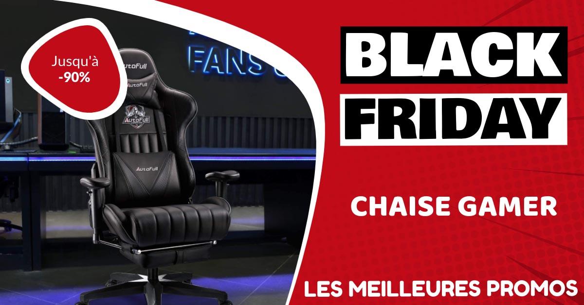 Chaise gaming Black Friday : les meilleures offres et promos