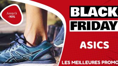 Chaussures running Asics Black Friday : les meilleures offres et promos