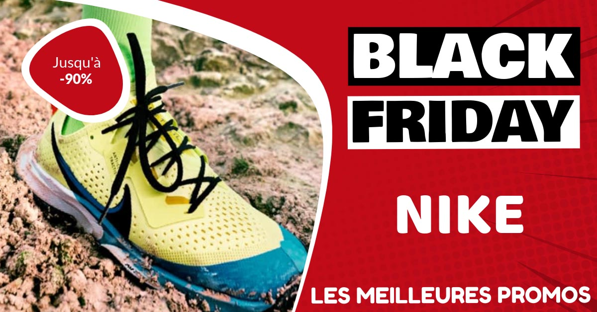 Chaussures running Nike Black Friday : les meilleures offres et promos