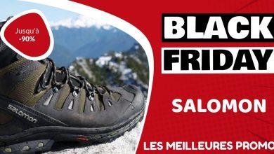 Chaussures Salomon Black Friday : les meilleures offres et promos