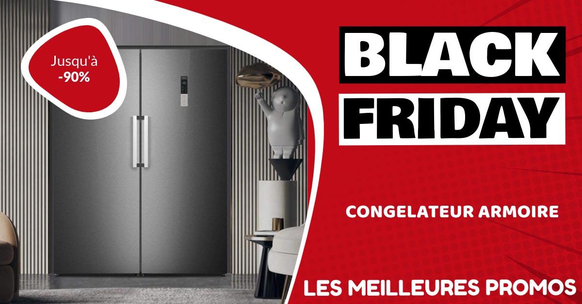 Congélateur armoire Black Friday : les meilleures offres et promos