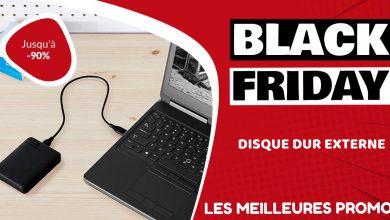 Disque dur externe Black Friday : les meilleures offres et promos