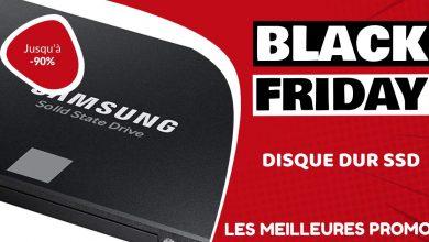 Disque dur SSD Black Friday : les meilleures offres et promos