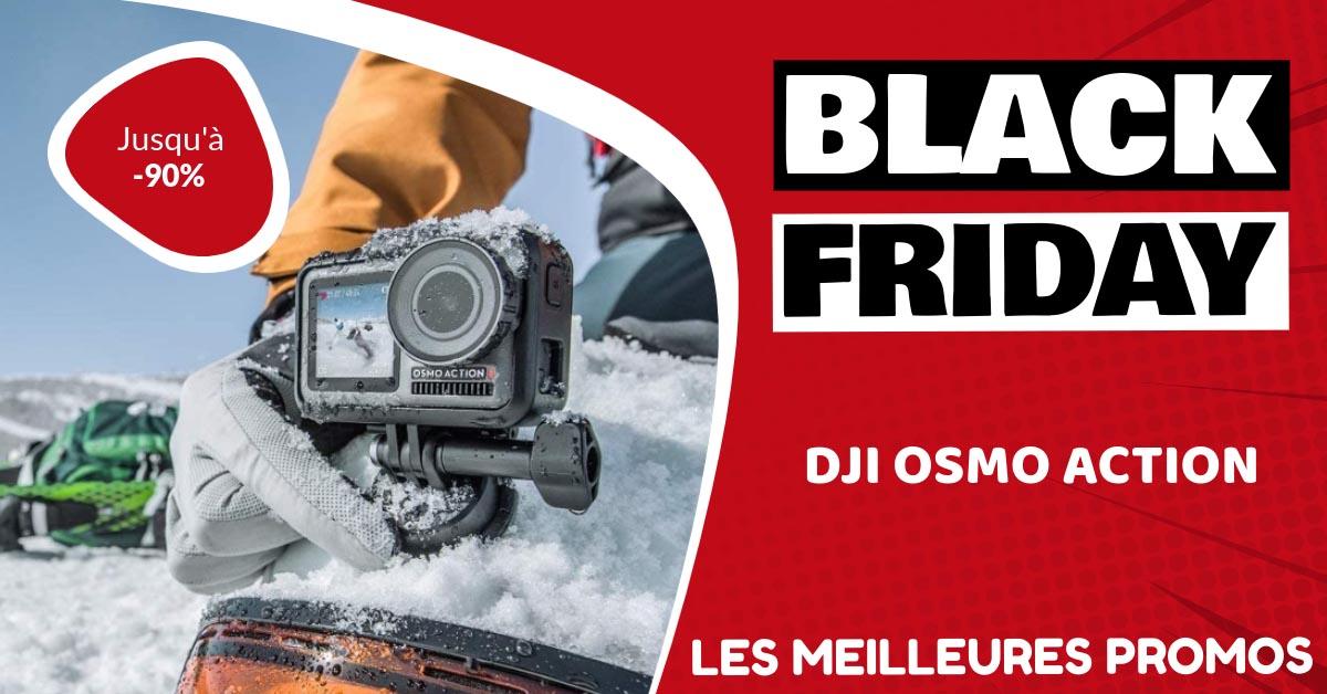 Dji Osmo Action Black Friday : les meilleures offres et promos
