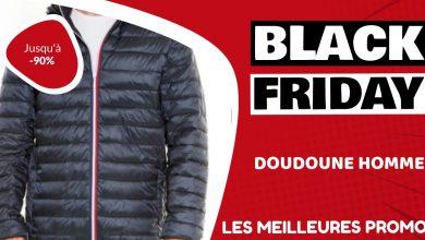 Doudoune homme Black Friday : les meilleures offres et promos