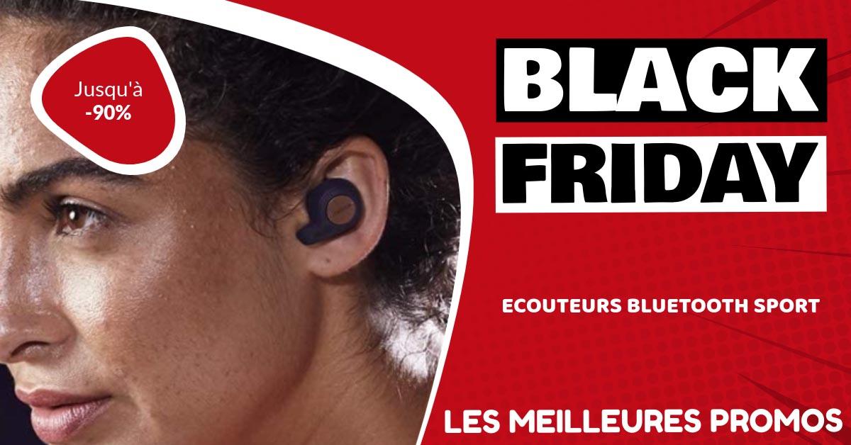 Ecouteurs bluetooth sport Black Friday : les meilleures offres et promos