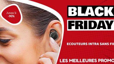Ecouteurs intra auriculaire sans fil Black Friday : les meilleures offres et promos
