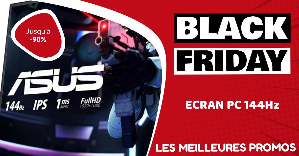 Ecran PC 144Hz Black Friday : les meilleures offres et promos