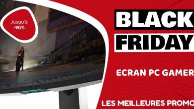 Ecran PC gaming Black Friday : les meilleures offres et promos