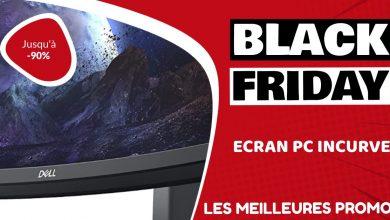 Ecran PC incurvé Black Friday : les meilleures offres et promos