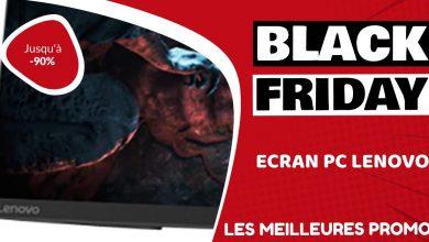 Ecran PC Lenovo Black Friday : les meilleures offres et promos