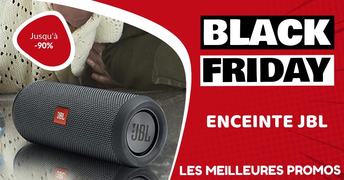 Enceinte JBL Black Friday : les meilleures offres et promos
