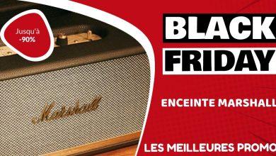 Enceinte Marshall Black Friday : les meilleures offres et promos