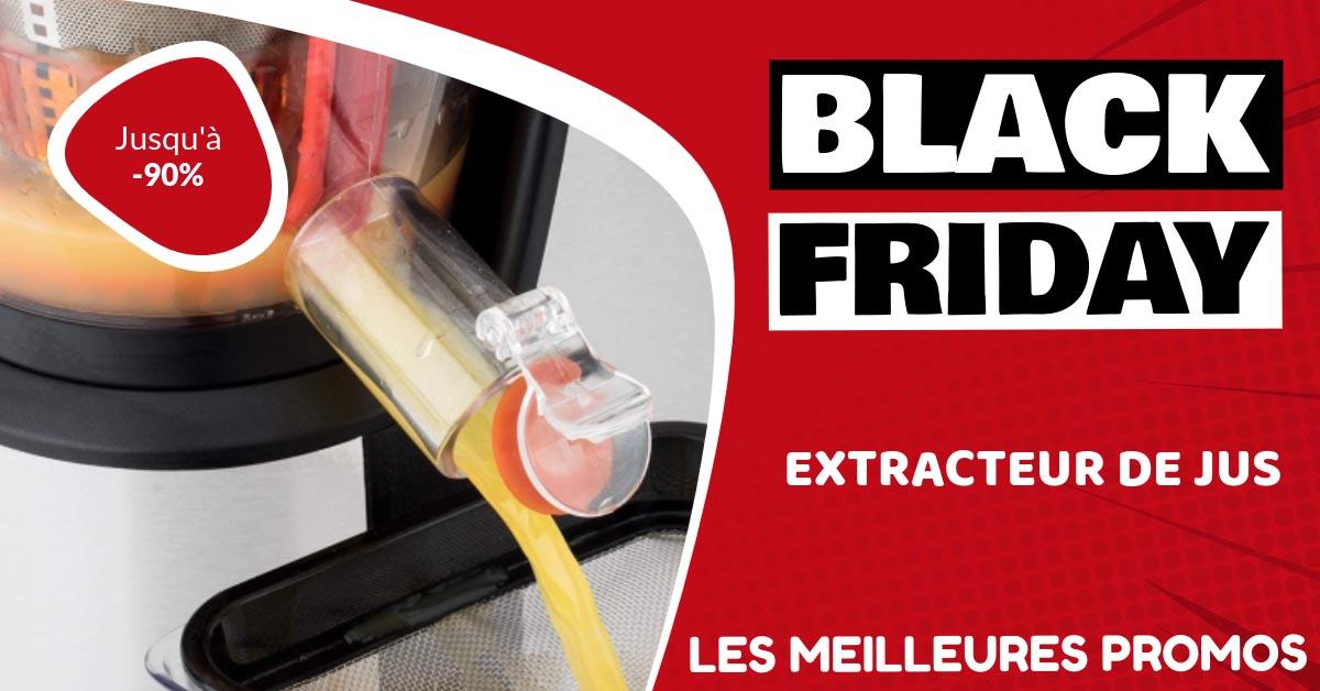 Extracteur de jus Black Friday : les meilleures offres et promos