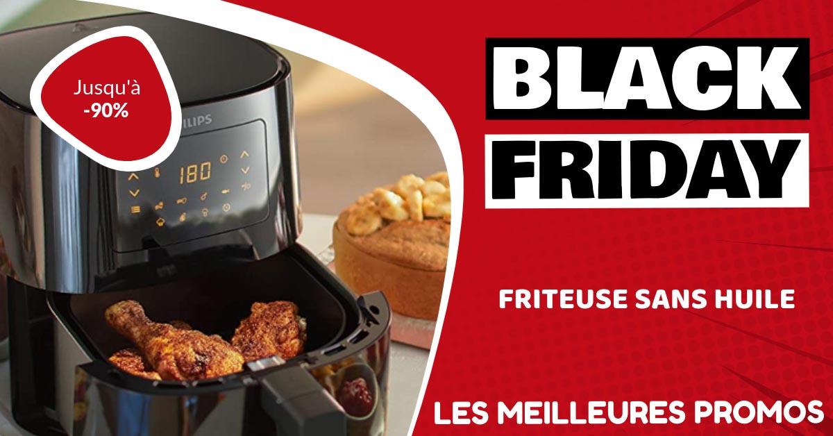 Friteuse sans huile Black Friday : les meilleures offres et promos