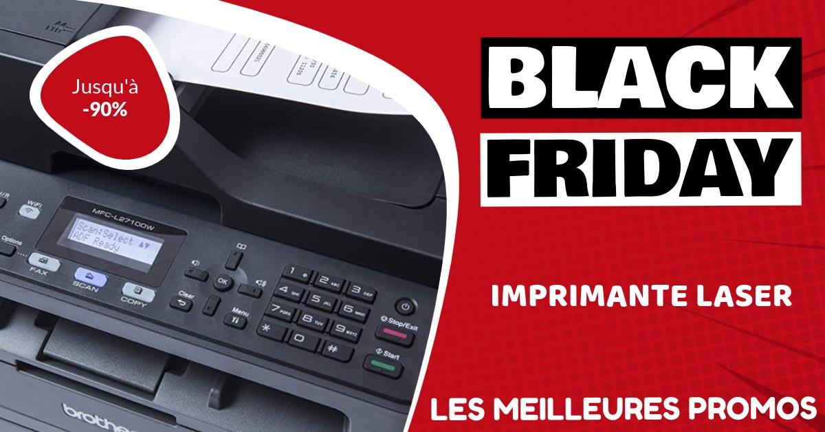 Imprimante laser Black Friday : les meilleures offres et promos