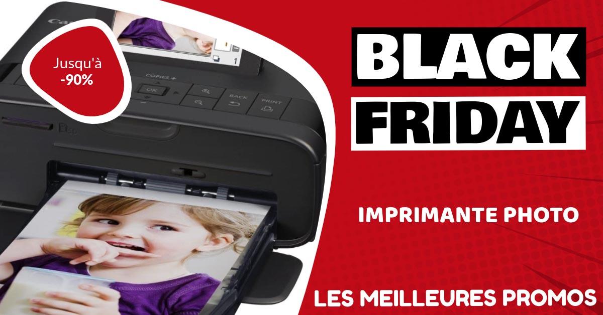 Imprimante photo Black Friday : les meilleures offres et promos