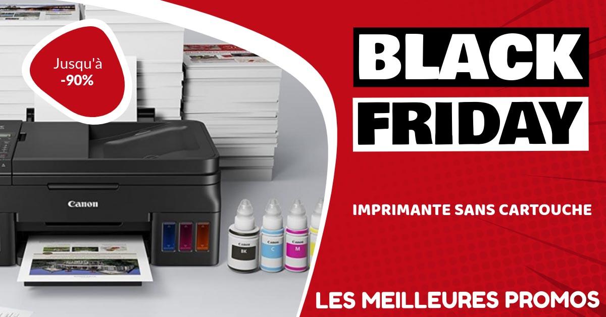 Imprimante sans cartouche Black Friday : les meilleures offres et promos