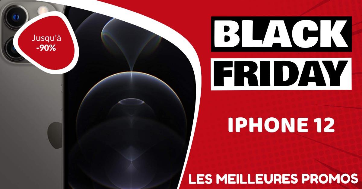 Iphone 12 Black Friday : les meilleures offres et promos