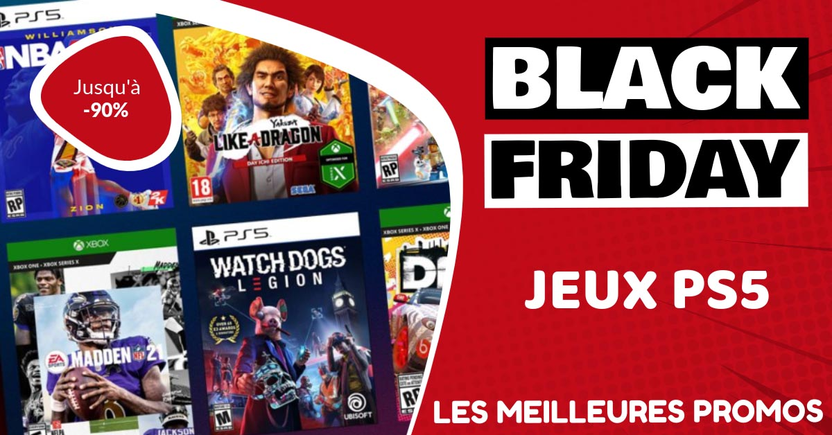 Jeux PS5 Black Friday : les meilleures offres et promos