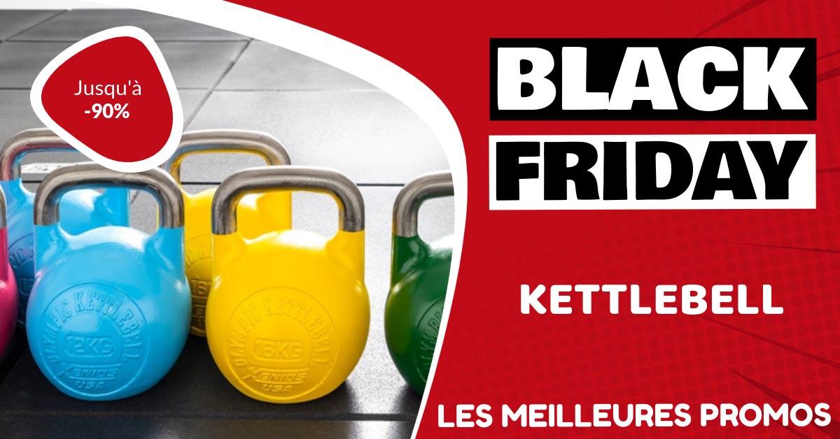 Kettlebell Black Friday : les meilleures offres et promos