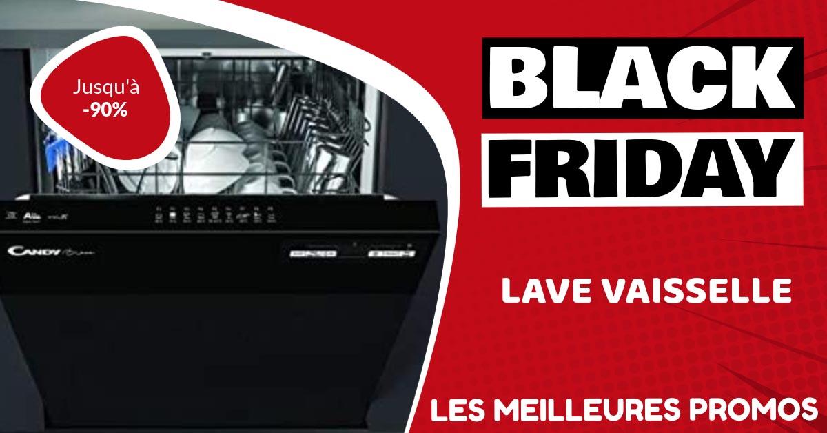 Lave vaisselle Black Friday : les meilleures offres et promos