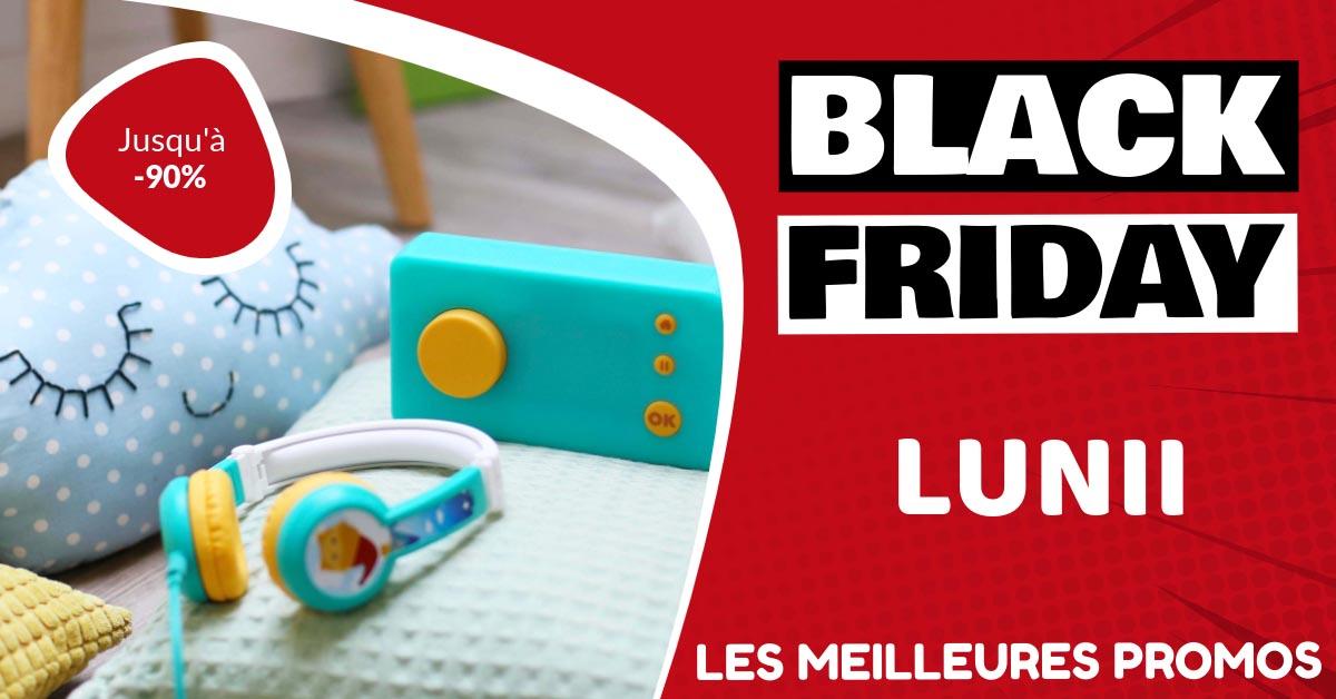 Lunii Black Friday : les meilleures offres et promos