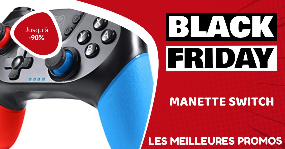Manette Switch Black Friday : les meilleures offres et promos