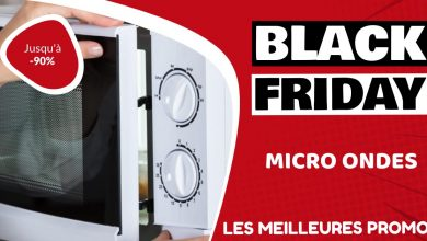 Micro ondes Black Friday : les meilleures offres et promos