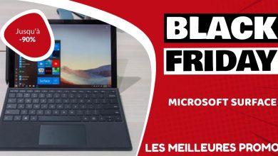 Microsoft Surface Black Friday : les meilleures offres et promos