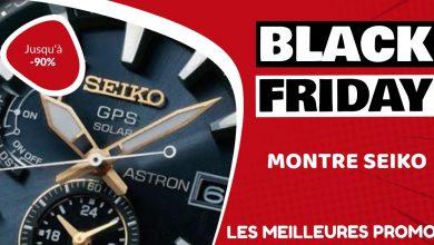 Montre Seiko Black Friday : les meilleures offres et promos